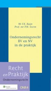 Ondernemingsrecht BV en NV in de praktijk