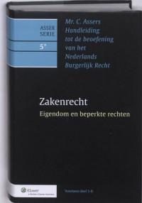 Asser 5* Zakenrecht - Eigendom en beperkte rechten