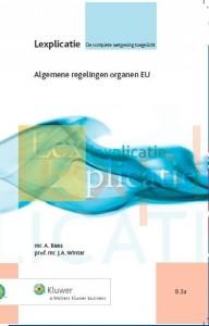 Algemene regelingen organen EU