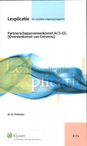 Partnerschapsovereenkomst ACS-EG (overeenkomst van Cotonou)