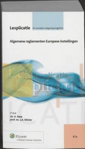 Algemene reglementen Europese instellingen