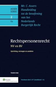 Asser 2-IIa Rechtspersonenrecht - NV en BV