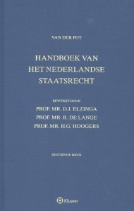Van der Pot, Handboek van het Nederlandse staatsrecht