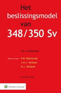 Het beslissingsmodel van 348/350 Sv