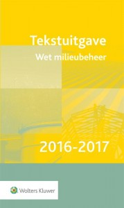 Tekstuitgave Wet milieubeheer  2016-2017