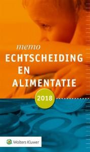 Memo Echtscheiding en alimentatie 2018