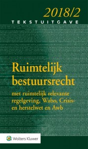 Ruimtelijk Bestuursrecht 2018/2