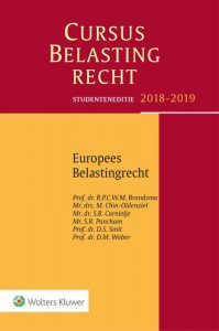 Studenteneditie Cursus Belastingrecht Europees belastingrecht 2018-2019