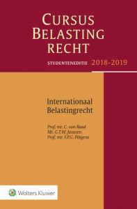 Studenteneditie Cursus Belastingrecht Internationaal Belastingrecht 2018-2019