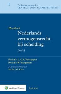 Handboek Nederlands vermogensrecht bij scheiding Algemeen Deel A