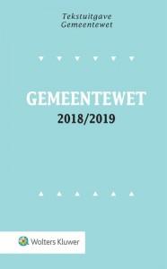 Tekstuitgave Gemeentewet 2018/2019