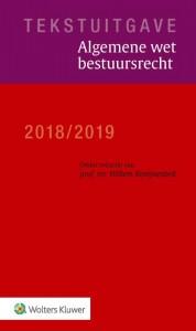 Tekstuitgave Algemene wet bestuursrecht 2018/2019