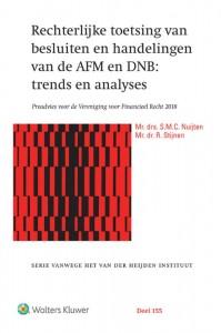 Rechterlijke toetsing van besluiten en handelingen van de AFM en DNB