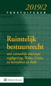 Tekstuitgave Ruimtelijk Bestuursrecht 2019/2