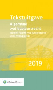Tekstuitgave Algemene wet bestuursrecht 2019