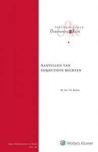 Aanvullen van subjectieve rechten