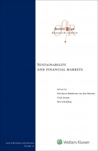 Sustainability and financial markets