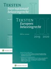 Teksten Internationaal & Europees belastingrecht 2019/2020