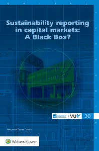 Sustainability reporting in capital markets: A Black Box?