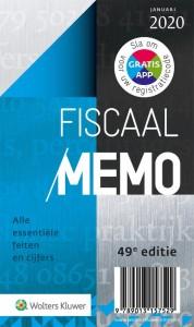Fiscaal Memo januari 2020