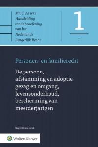 Asser 1-I De persoon, afstamming en adoptie, gezag en omgang, levensonderhoud