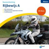 ANWB Theorieboek Rijbewijs A - Motorfiets + CD-ROM