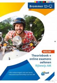 Theorieboek+online examens oefenen Rijbewijs AM - Brommer