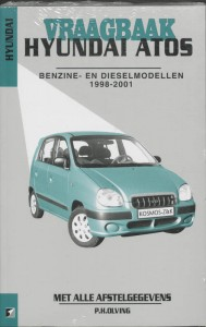 Autovraagbaken Vraagbaak Hyundai Atos Benzine- en dieselmodellen 1998-2001