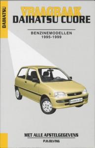 Autovraagbaken Vraagbaak Daihatsu Cuore Benzinemodellen 1995-1999