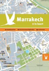 Dominicus stad-in-kaart: Marrakech in kaart