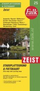 Falk stadsplattegrond Zeist e.o. 2015-2018, 17e druk met De Bilt/Bilthoven, Driebergen, Doorn en Maarn