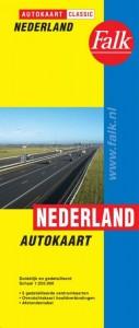 Falk autokaart Nederland classic 2017-2018, 18e druk