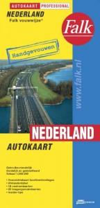 Falk autokaart Nederland professional 2017-2018,  86e druk