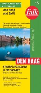 Falk stadsplattegrond & fietskaart Den Haag