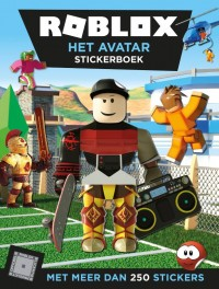 Het Avatar stickerboek