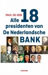 Alle 18 presidenten van De Nederlandsche Bank