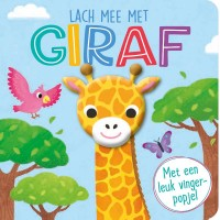 Lach mee met giraf - vingerpopboek