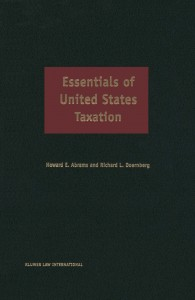 Essentials of United States Taxation