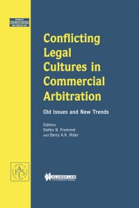 Conflicting Legal Cultures in Commercial Arbitration