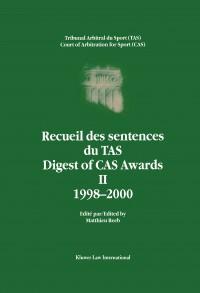 Digest of CAS Awards II