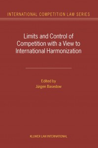 Limits and Control of Competition with a View to International Harmonization