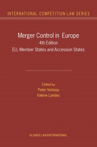Merger Control in Europe