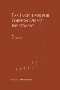 Tax Incentives for Foreign Direct Investment