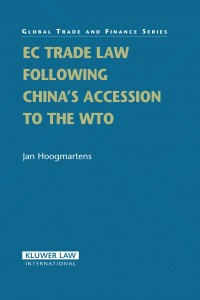 EC Trade Law Following China's Accession to the WTO