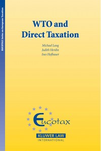 WTO and Direct Taxation