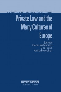 Private Law and the Many Cultures of Europe