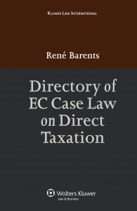 Directory of EC Case Law on Direct Taxation