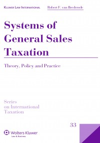 Systems of General Sales Taxation