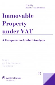 Immovable Property under VAT