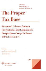 The Proper Tax Base